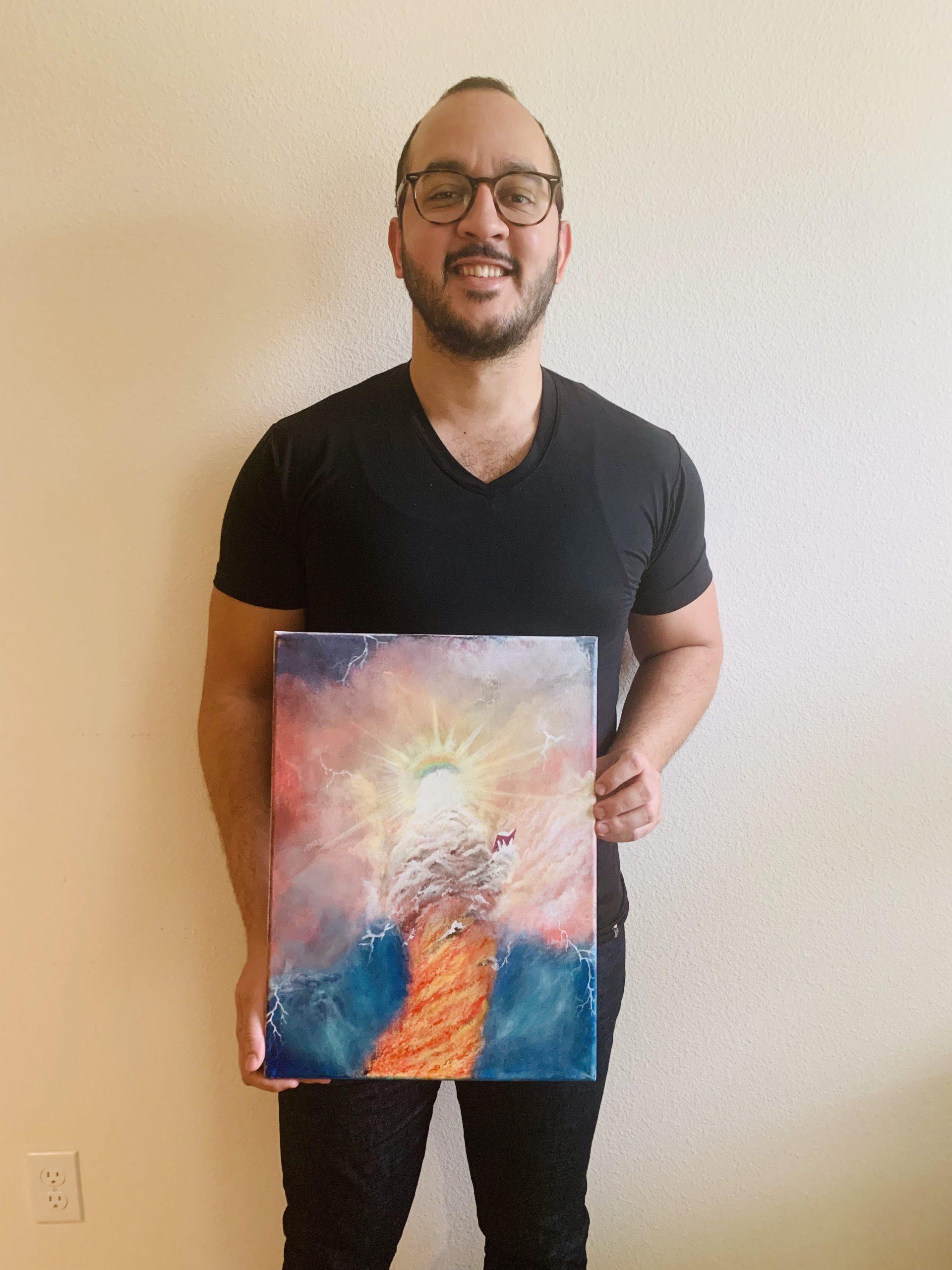 holding art